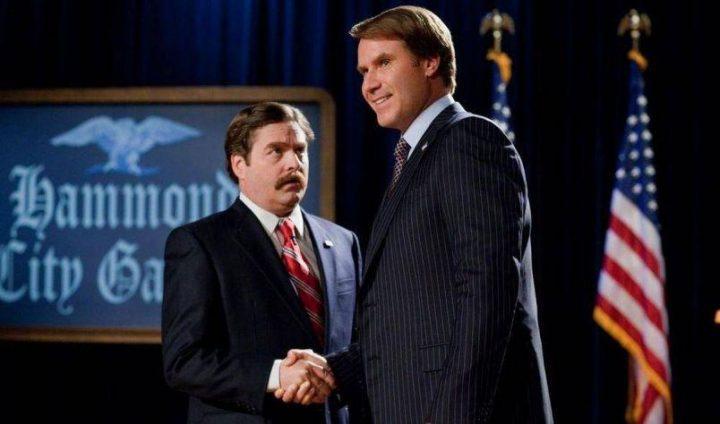 Candidato a sorpresa, di Jay Roach, recensione, scheda film, Will Ferrell, Zach Galifianakis