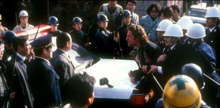Black Rain - Pioggia sporca, scheda film, Ridley Scott, Michael Douglas, Andy Garcia, Ken Takakura, Kate Capshaw, curiosità, errori