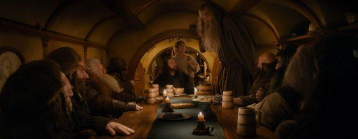Lo Hobbit - Un viaggio inaspettato, scheda film, recensione, Martin Freeman, Ian McKellen, Richard Armitage, Ken Stott, Graham McTavish, Aidan Turner, Cate Blanchett, Hugo Weaving, Christopher Lee