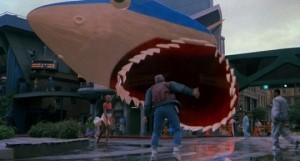 Ritorno al futuro parte II streaming di Robert Zemeckis con Michael J. Fox, Christopher Lloyd, Lea Thompson, Thomas F. Wilson, Elisabeth Shue, James Tolkan shark frasi, citazioni e dialoghi