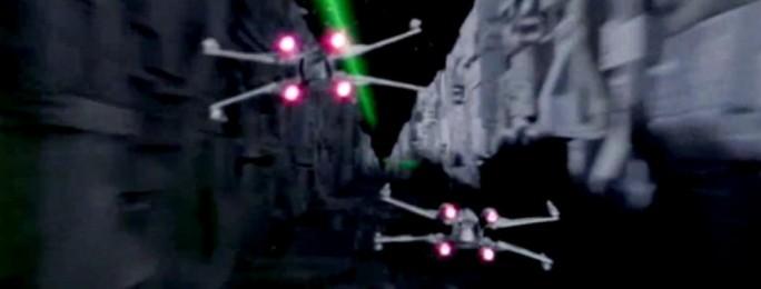 Star Wars: Episodio IV - Una nuova speranza citazioni, combattimento spaziale