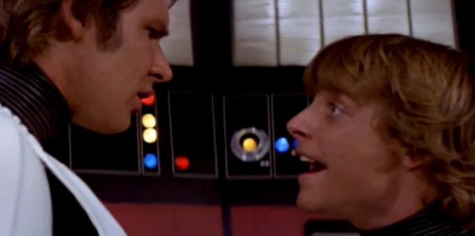 Star Wars: Episodio IV - Una nuova speranza citazioni, Mark Hamill, Harrison Ford