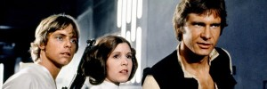 Star Wars Episodio IV - Una nuova speranza streaming di George Lucas, con Mark Hamill, Harrison Ford, Carrie Fisher, Peter Cushing, Alec Guinness 12 citazioni e dialoghi