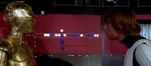 Star Wars Episodio IV - Una nuova speranza streaming di George Lucas, con Mark Hamill, Harrison Ford, Carrie Fisher, Peter Cushing, Alec Guinness 16 citazioni e dialoghi