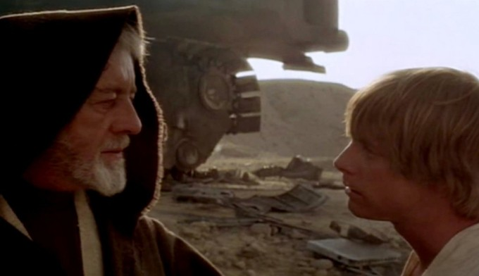 Star Wars Episodio IV - Una nuova speranza streaming di George Lucas, con Mark Hamill, Harrison Ford, Carrie Fisher, Peter Cushing, Alec Guinness 4 frasi, citazioni e aforismi