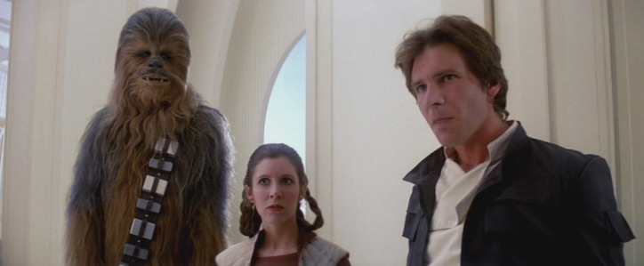 Quando Harrison Ford chiese di uccidere Ian Solo Star Wars Episodio V - L'Impero colpisce ancora streaming di Irvin Kershner con Harrison Ford, Carrie Fisher, Billy Dee Williams, Mark Hamill, Alec Guinness 119