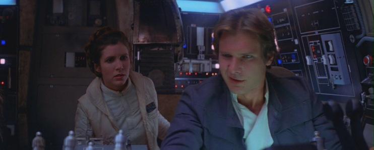 Harrison Ford chiese di uccidere Ian Solo, Millennium Falcon, Carrie Fisher
