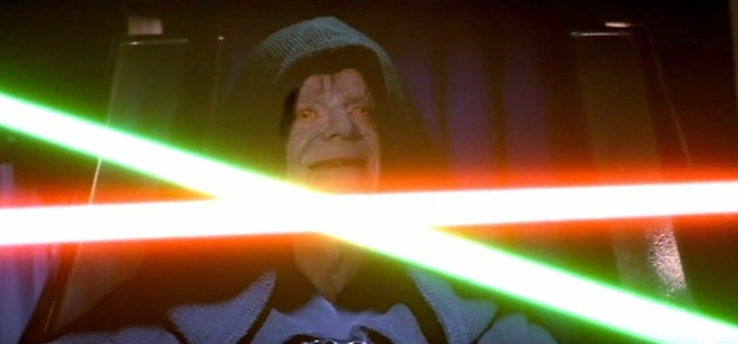 La spada-laser di Star Wars può diventare realtà Star Wars Episodio VI - Il ritorno dello Jedi streaming di Richard Marquand. Con Mark Hamill, Harrison Ford, Carrie Fisher, Billy Dee Williams, Anthony Daniels 015