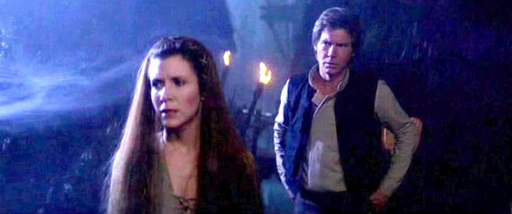 Star Wars: Episodio VI - Il ritorno dello Jedi frasi e citazioni, Harrison Ford, Carrie Fisher, dialoghi