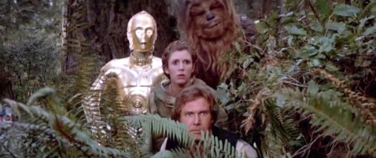 """Star Wars, scena tagliata del """"Ritorno dello Jedi"""" riabilita Obi-Wan Kenobi Star Wars Episodio VI: Il ritorno dello Jedi streaming star wars laserdisc 1"""