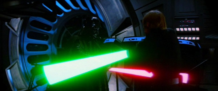 La spada-laser di Star Wars può diventare realtà Star Wars Episodio VI - Il ritorno dello Jedi streaming di Richard Marquand. Con Mark Hamill, Harrison Ford, Carrie Fisher, Billy Dee Williams, Anthony Daniels 25