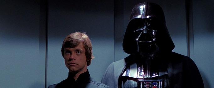 Star Wars: Episodio VI - Il ritorno dello Jedi frasi e citazioni, Dart Fener, Luke