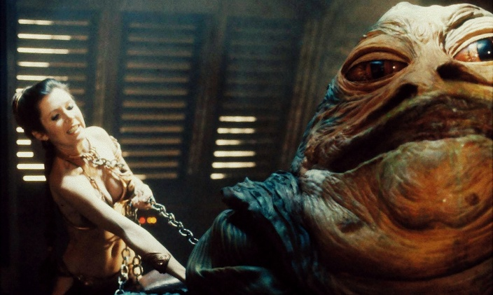 La più bella della galassia di Star Wars, Carrie Fisher sexy bikini 2