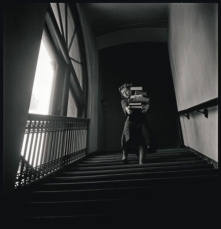 Stanley Kubrick il fotografo Stanley Kubrick, Columbia University, 1948