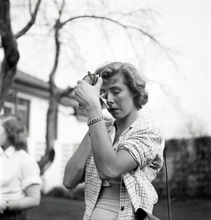 Stanley Kubrick il fotografo Stanley Kubrick, Dailies of a rising star, Betsy von Furstenberg, 1950