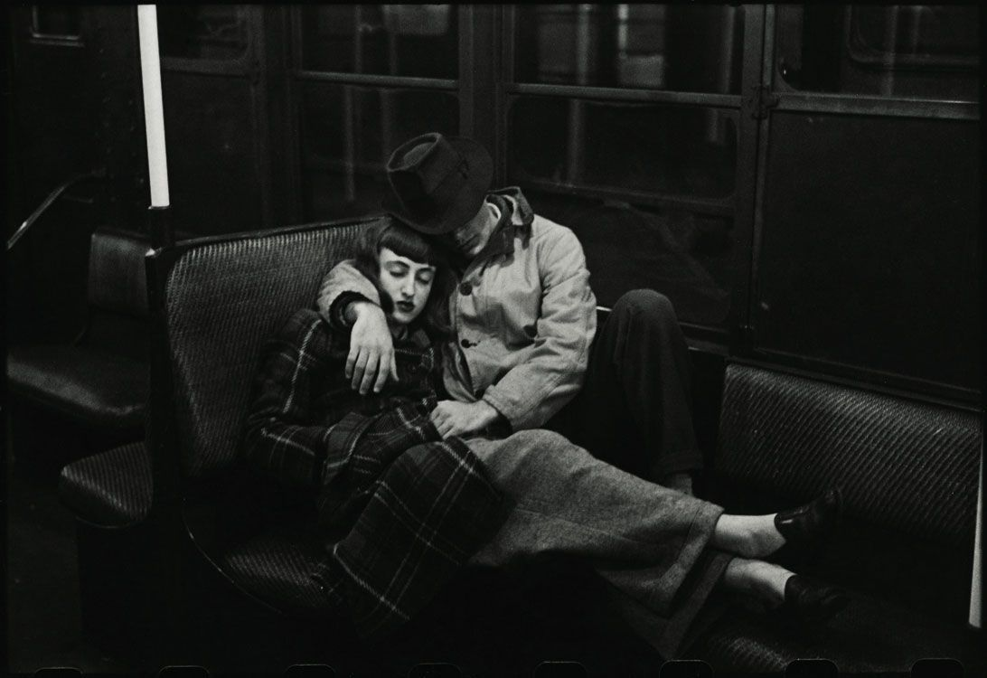 Stanley Kubrick il fotografo Stanley Kubrick, The New York Subway, 1947