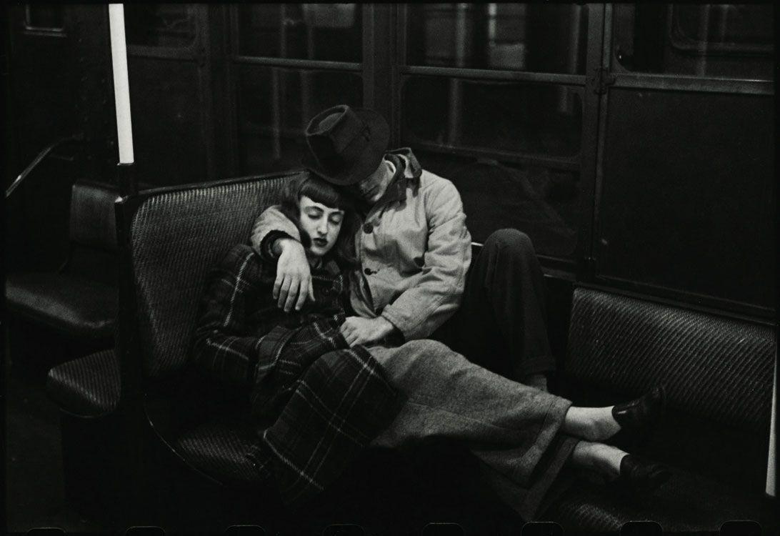Stanley Kubrick il fotografo Stanley Kubrick, The New York Subway, 1947
