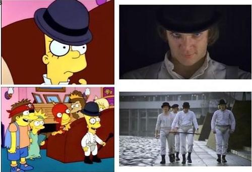 I Simpson e il cinema, Arancia meccanica