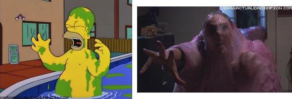 I Simpson e il cinema, Blob - Il fluido che uccide