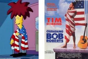 Bob Roberts, Telespalla Bob I Simpson e il cinema (terza parte)