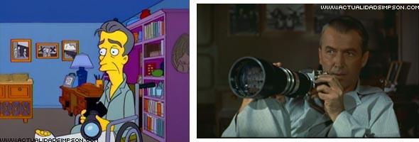 I simpson e il cinema terza parte - La finestra sul cortile streaming ...