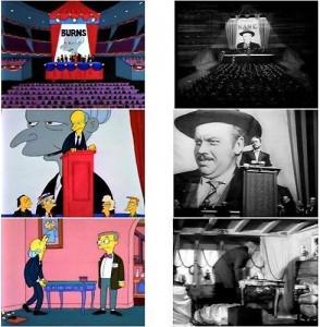 Quarto potere streaming di Orson Welles (1941) Burns nei panni di citizen cane