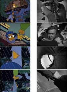 Sabotatori streaming di Alfred Hitchcock (1942), Bart e il suo amico del cuore Milhouse