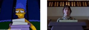 I Simpson e il cinema The Shining 1