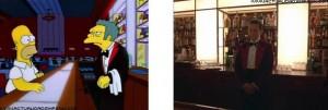 The Shining 5 streaming Homer Simpson come Jack Nicholson