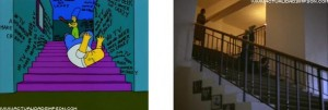 The Shining 7 streaming Homer Simpson come Jack Nicholson