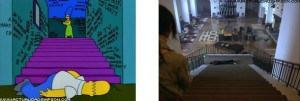 The Shining 9 streaming Homer Simpson come Jack Nicholson