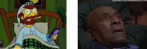 I Simpson e il cinema The Shining Willie