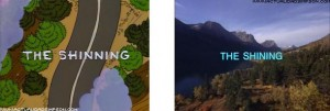 I Simpson e il cinema The Shining  g