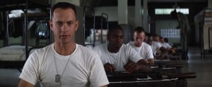 Forrest Gump streaming di Robert Zemeckis con Tom Hanks, Rebecca Williams, George Kelly, Robin Wright e Gary Sinise 166 frasi citazioni e dialoghi
