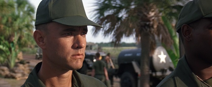 Forrest Gump citazioni e dialoghi, Robert Zemeckis, Tom Hanks, Robin Wright, Gary Sinise, Vietnam