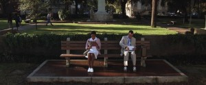 Forrest Gump streaming di Robert Zemeckis con Tom Hanks, Rebecca Williams, George Kelly, Robin Wright e Gary Sinise 7 frasi citazioni e dialoghi