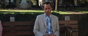 Forrest Gump streaming di Robert Zemeckis con Tom Hanks, Rebecca Williams, George Kelly, Robin Wright e Gary Sinise 8 frasi citazioni e dialoghi