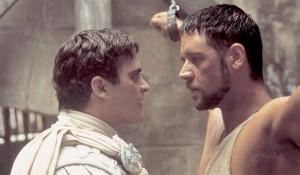 Joaquin Phoenix, Russell Crowe, Il Gladiatore frasi citazioni e dialoghi streaming Ridley Scott