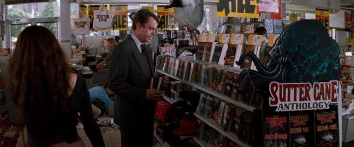 Il seme della follia, scheda film, recnesione, John Carpenter, Sam Neill, Julie Carmen, Jürgen Prochnow, biblioteca
