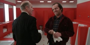Shining streaming di Stanley Kubrick con Jack Nicholson, Shelley Duvall, Danny Lloyd, Scatman Crothers, Barry Nelson, Philip Stone, Joe Turkel 19 frasi citazioni e dialoghi