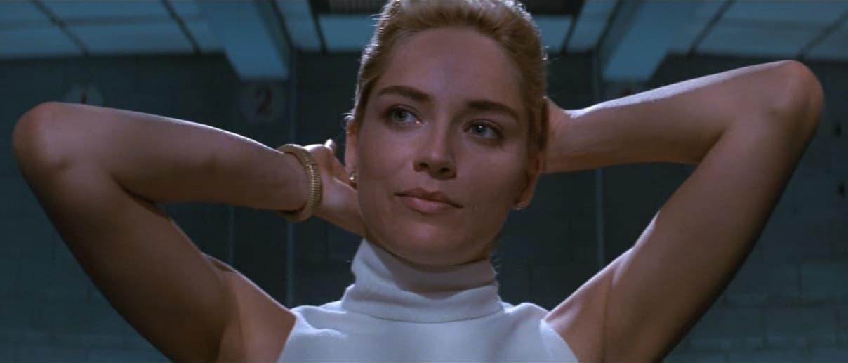 Basic Instinct, 1992, Paul Verhoeven, Sharon Stone, Catherine Tramell, interrogatorio
