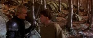 Ladyhawke Richard Donner con Michelle Pfeiffer, Rutger Hauer, Matthew Broderick, Leo McKern, John Wood, Alfred Molina streaming 19 Ladyhawke frasi dialoghi e citazioni