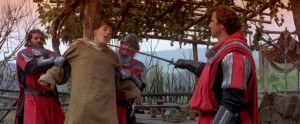 Ladyhawke Richard Donner con Michelle Pfeiffer, Rutger Hauer, Matthew Broderick, Leo McKern, John Wood, Alfred Molina streaming 6 Ladyhawke frasi dialoghi e citazioni