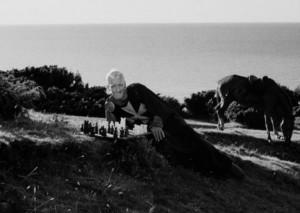 Il settimo sigillo (Det Sjunde Inseglet) Ingmar Bergman Max von Sydow, Gunnar Björnstrand, Gunnel Lindblom, Bengt Ekerot, Bibi Andersson streaming 019 Il settimo sigillo citazioni, dialoghi e frasi