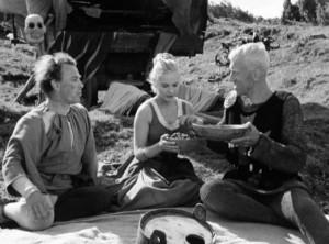 Il settimo sigillo (Det Sjunde Inseglet) Ingmar Bergman Max von Sydow, Gunnar Björnstrand, Gunnel Lindblom, Bengt Ekerot, Bibi Andersson streaming 021 Il settimo sigillo citazioni, dialoghi e frasi