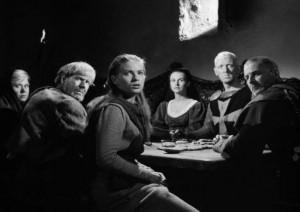 Il settimo sigillo (Det Sjunde Inseglet) Ingmar Bergman Max von Sydow, Gunnar Björnstrand, Gunnel Lindblom, Bengt Ekerot, Bibi Andersson streaming 107 Il settimo sigillo citazioni, dialoghi e frasi