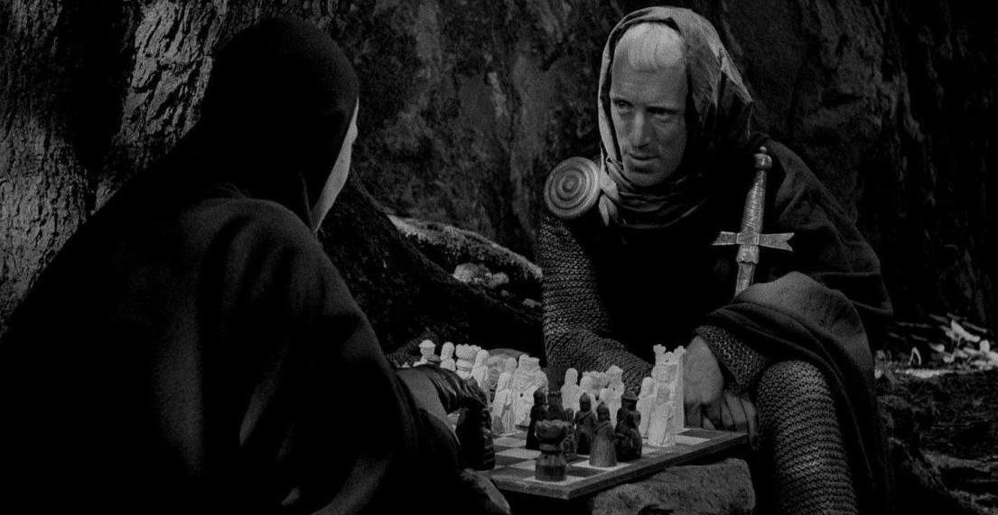 Il settimo sigillo (Det Sjunde Inseglet) Ingmar Bergman Max von Sydow, Gunnar Björnstrand, Gunnel Lindblom, Bengt Ekerot, Bibi Andersson streaming 2 Il settimo sigillo citazioni, dialoghi e frasi