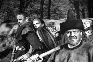 Il settimo sigillo (Det Sjunde Inseglet) Ingmar Bergman Max von Sydow, Gunnar Björnstrand, Gunnel Lindblom, Bengt Ekerot, Bibi Andersson streaming 24 Il settimo sigillo citazioni, dialoghi e frasi