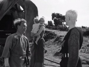 Il settimo sigillo (Det Sjunde Inseglet) Ingmar Bergman Max von Sydow, Gunnar Björnstrand, Gunnel Lindblom, Bengt Ekerot, Bibi Andersson streaming 41 Il settimo sigillo citazioni, dialoghi e frasi
