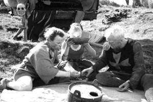 Il settimo sigillo (Det Sjunde Inseglet) Ingmar Bergman Max von Sydow, Gunnar Björnstrand, Gunnel Lindblom, Bengt Ekerot, Bibi Andersson streaming 44 Il settimo sigillo citazioni, dialoghi e frasi